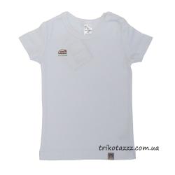 """Детская футболка для девочки тм""""Смил"""" белая"""