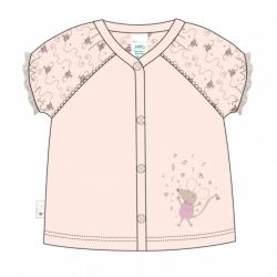 Кофта  для девочки с коротким рукавом