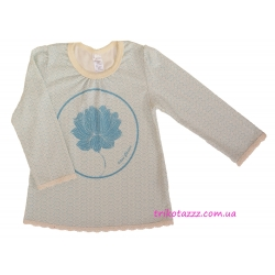 "Пижама для девочки тм""Смил"", ""Цветок Лотоса"" голубая"