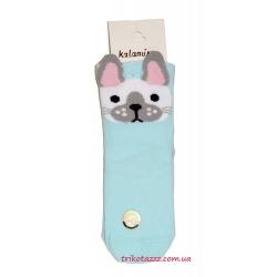 """Носки 3D для девочки м""""Katamino"""" , Sarmant голубые"""
