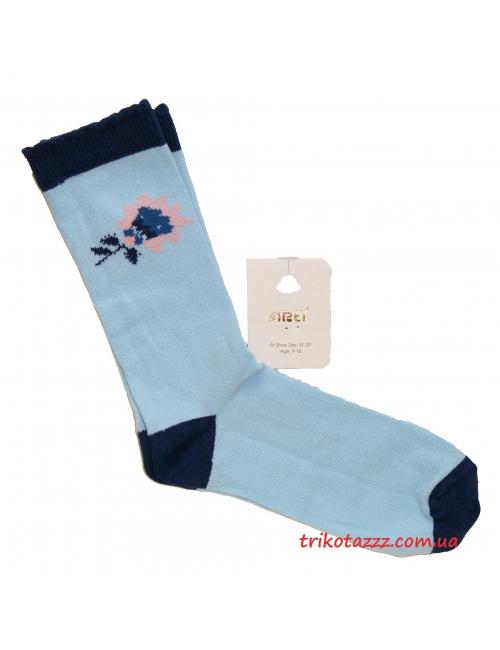 "Носки для девочки тм""Arti"" Selina голубые"