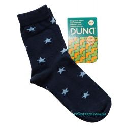 """Носки для девочки тм""""Дюна-Веста"""" темно-синие звездочка"""