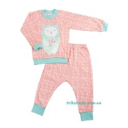 """Пижама для девочки тм""""Бонка"""" розовая карамель"""