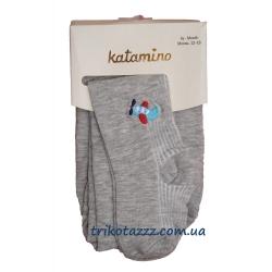 """Колготки для мальчика тм""""Katamino"""" Fun Fair Baby серые"""