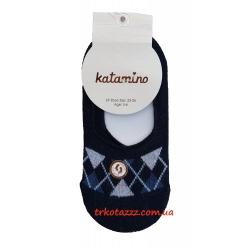 """Носки (следы) для мальчика тм""""Katamino"""" Ekose Erkek темно-синие"""