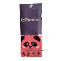"""Колготки для девочки тм""""Katamino"""" Po 3D красные"""