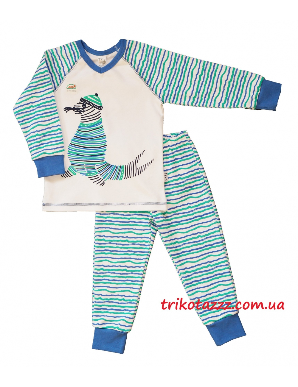 "Пижама для мальчика тм""Смил"" Морж"