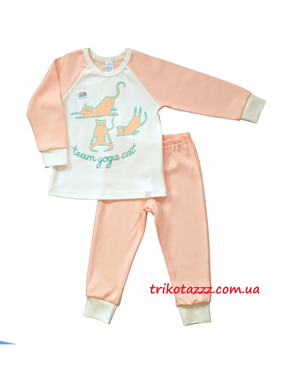 "Пижама для девочки тм""Смил"" Котик"