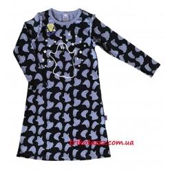 """Ночная рубашка со световым эффектом для девочки с легким начесом тм""""Смил"""" рисуок"""