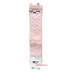 """Гольфы для девочки 3D Лисичка тм""""UCS"""" розовое облако"""