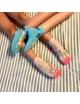 Набор носков для девочек (подростков) 2 пары на планшетке Ekmen Звери