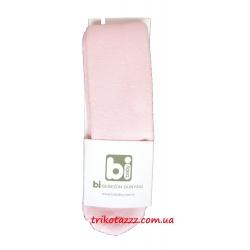 Детские махровые колготки для девочек Bibaby мордочки розовые