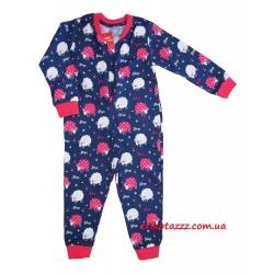 """Детская пижама - комбинезон для девочек тм""""Cornette"""" овечки"""