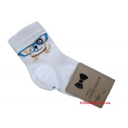 """Носки для мальчиков тм""""Buonumare"""" Собачка в очках"""