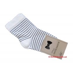 """Носки для мальчиков тм""""Buonumare"""" Полоска серая"""