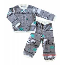 """Теплая детская пижама для мальчиков тм """" Наталина """" Мишка"""