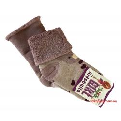 """Теплые носки для девочек Мишка тм""""Kidsbella"""" сиреневые"""