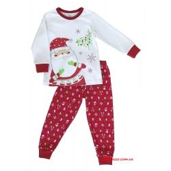 """Детская пижама тм""""Смил"""" Рождественские истории Дед Мороз"""