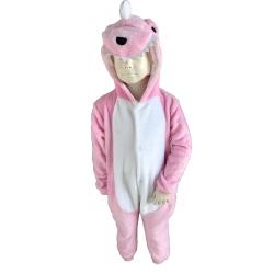 Кигуруми детская пижама Розовый Дракончик