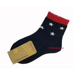 """Носки для мальчиков тм"""" Золото """" синие, звездочки"""