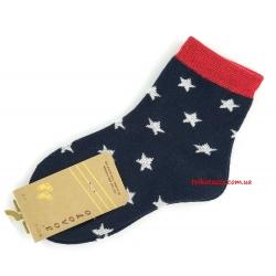 """Носки для мальчиков тм"""" Золото """" синие, звезды много"""