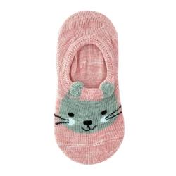 Следы ( носки) для девочек Midini Зайчики розовые