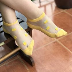 """Носки для девочки ( подростка ) тм """" Корона """" желтые"""