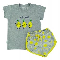 """Пижама летняя детская тм"""" Taro """" Лимон"""