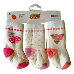 Носочки махровые для девочки