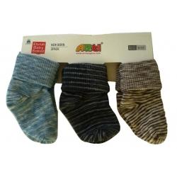 """Набор носков для мальчика 3 шт тм """"Arti"""" с подворотом"""